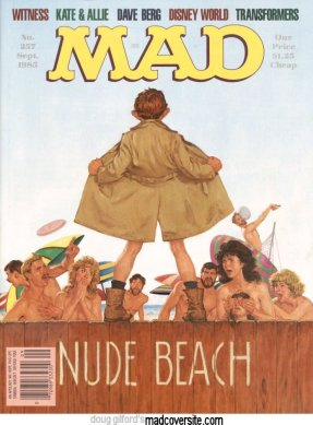 MAD magazine front cover
