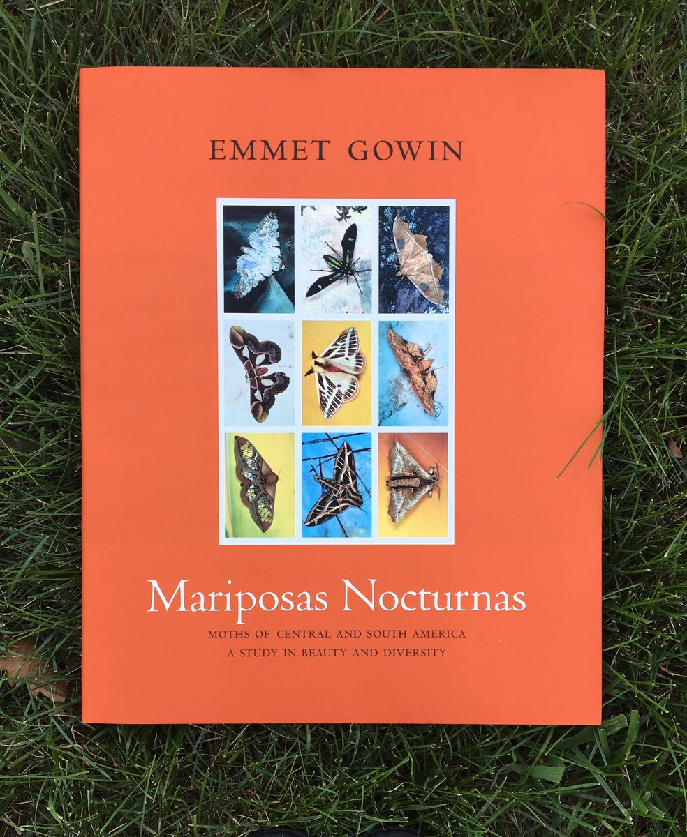 Emmet Gowin, Mariposas Nocturnas (book cover)