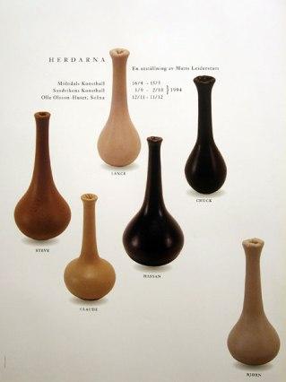 Leiderstam, Shepherds (first name vases)