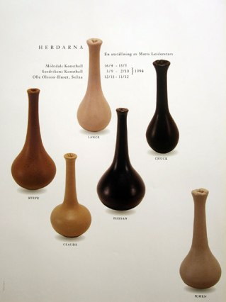 Leiderstam, Shepherds (first name vases)