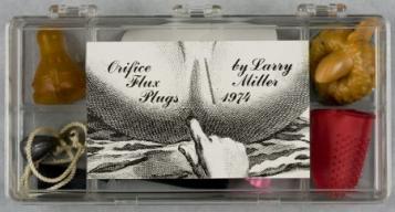 Miller, Orifice Flux Plugs (label)