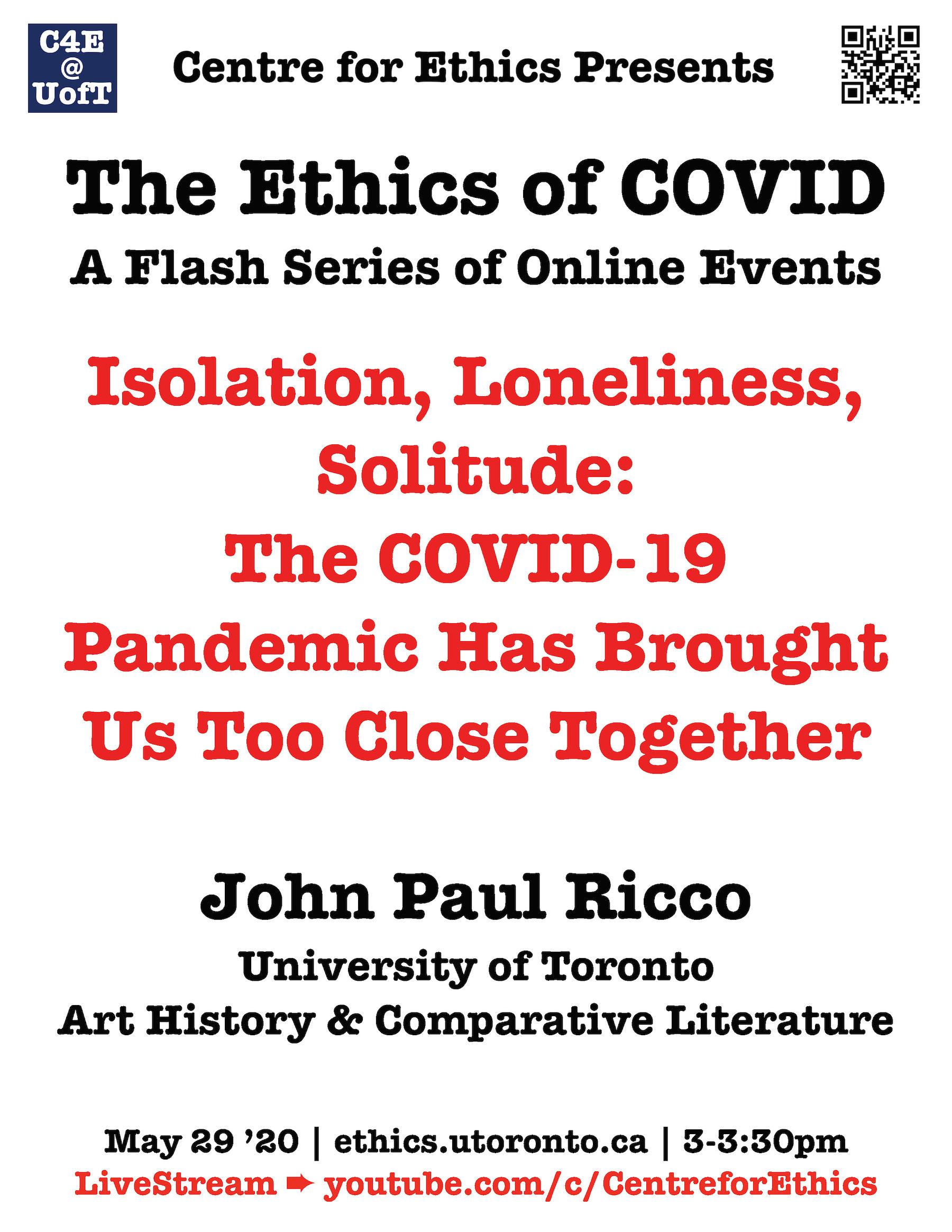 Ricco COVID poster